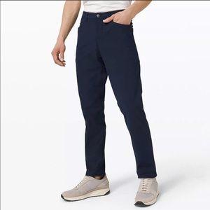 Lululemon ABC Slim Trouser Pants 28 Navy